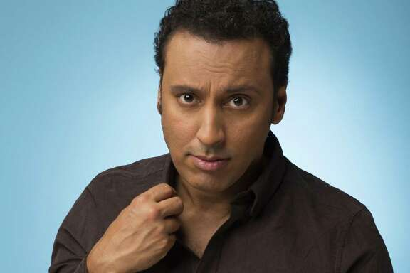 """Actor and comedian Aasif Mandvi is best known for his work on """"The Daily Show."""""""