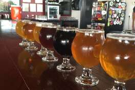 """Bakfish Brewing Co in Pearland is offering a sweet deal to customers: a one time $1000 membership for """"free beer for life."""" Photo courtesy Mili H/Yelp"""