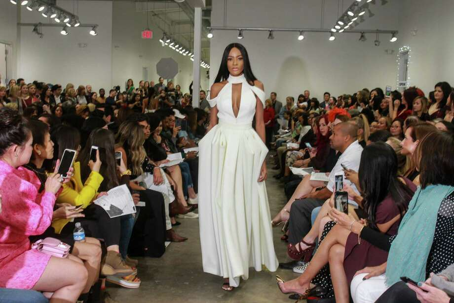 Designer Platform Houston, a fashion show featuring 16 emerging designers - all students from Houston Community College and the Art Institute. Photo: Gary Fountain, Contributor / © 2019 Gary Fountain