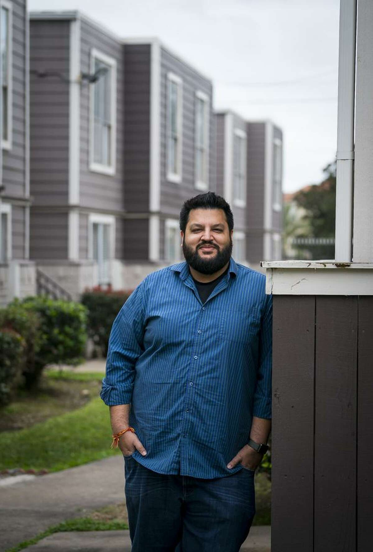 Manu Gupta, managing director of Indus Management Group, has been remodeling apartment complexes like this one, Villa Barcelona, around Houston. Photographed Tuesday, Jan. 22, 2019.