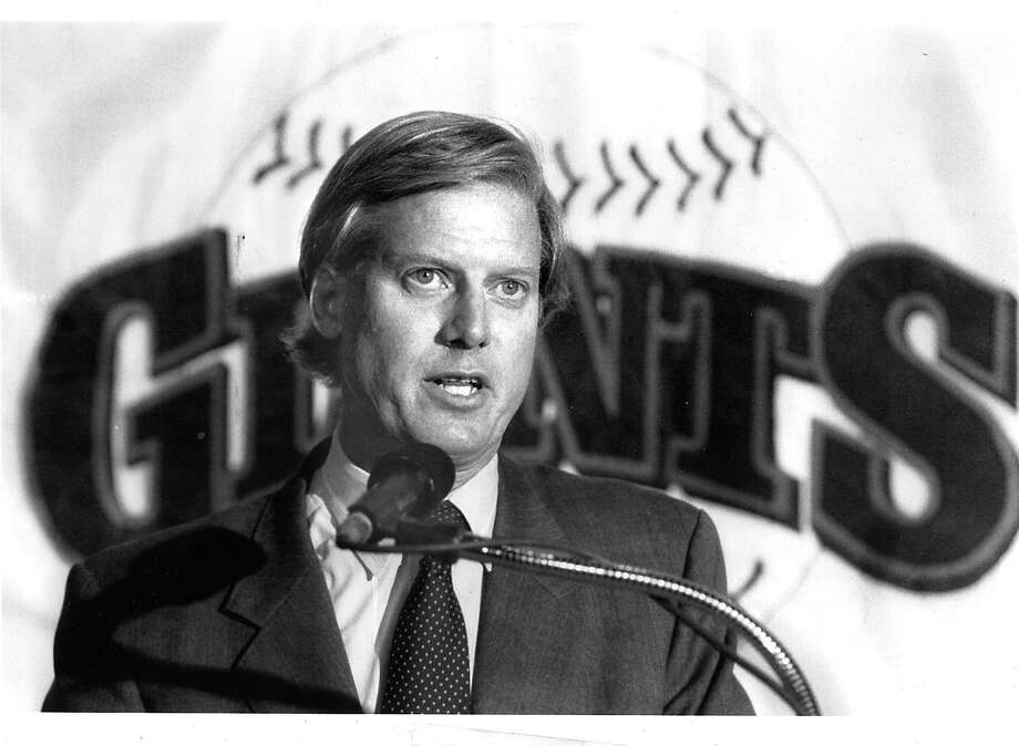 Peter A. Magowan led a group of investors who bought the Giants, keeping the team in San Francisco and overseeing construction of a downtown ballpark. Photo: Frederic Larson / The Chronicle 1992
