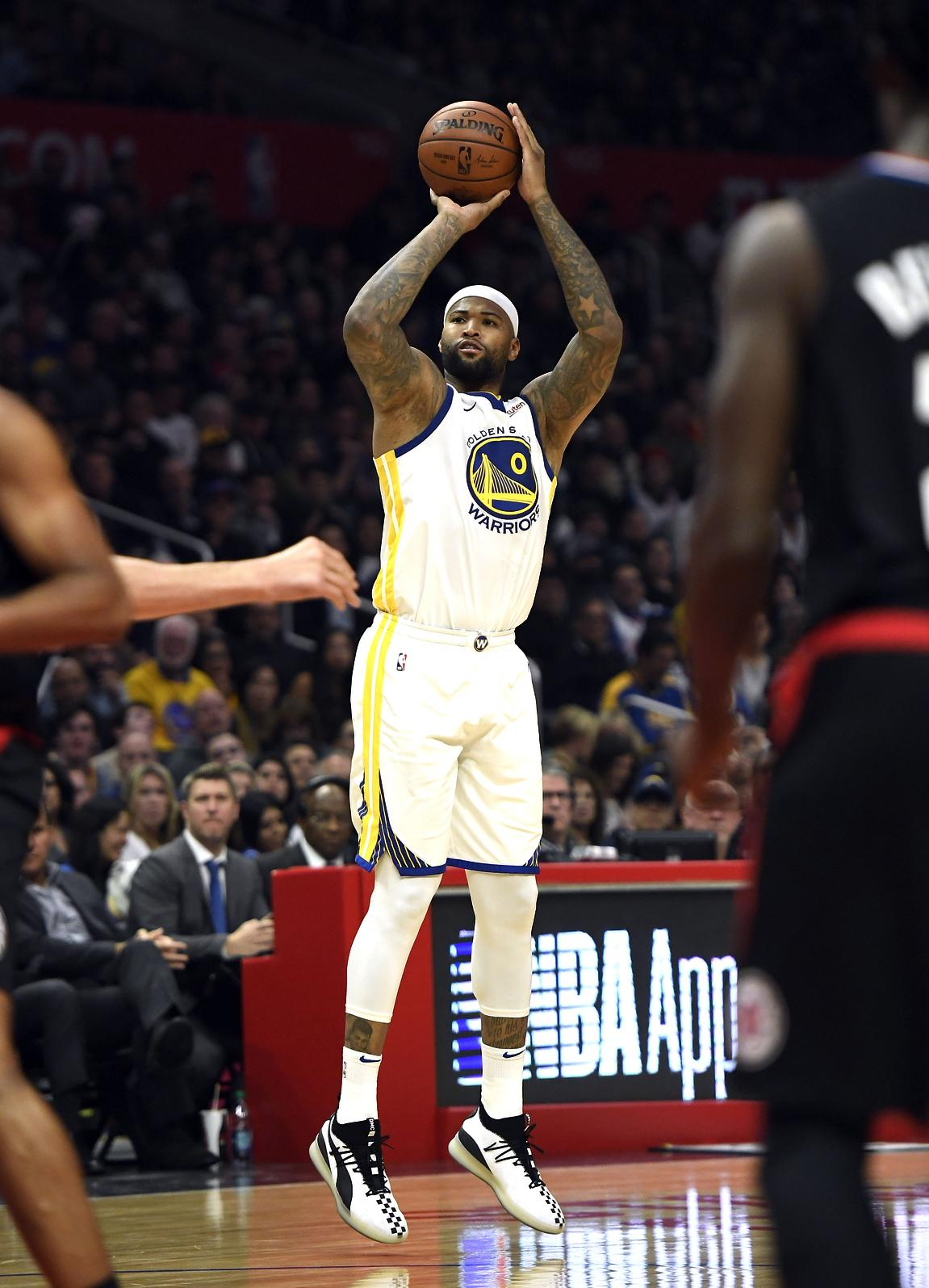 How DeMarcus Cousins  3-point shot went from rare to  unfair  with Warriors cb6165e1b