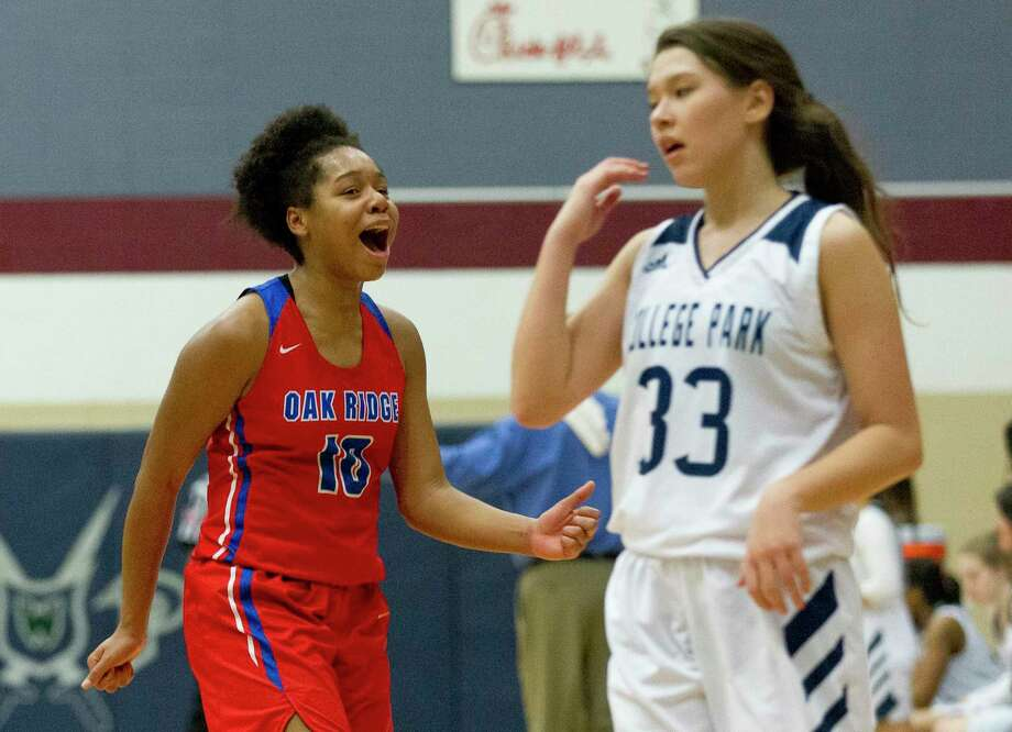 Oak Ridge forward Janiya Maxie (10) is one of the top returning players for the Lady War Eagles this season. Photo: Jason Fochtman, Houston Chronicle / Staff Photographer / © 2019 Houston Chronicle
