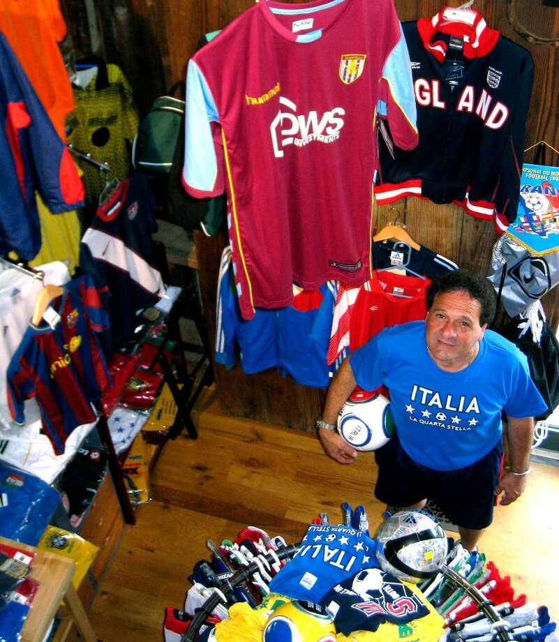 SPECTRUM/Tony DiPreta, owner of the Kent Specialty Sports Shop, July 20, 2010. Photo: Norm Cummings / The News-Times