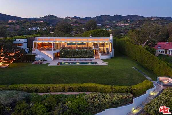 An oceanfront estate in the posh beach community of Malibu is now on the market for $125 million, which, if it holds, could set a sales record for the area.