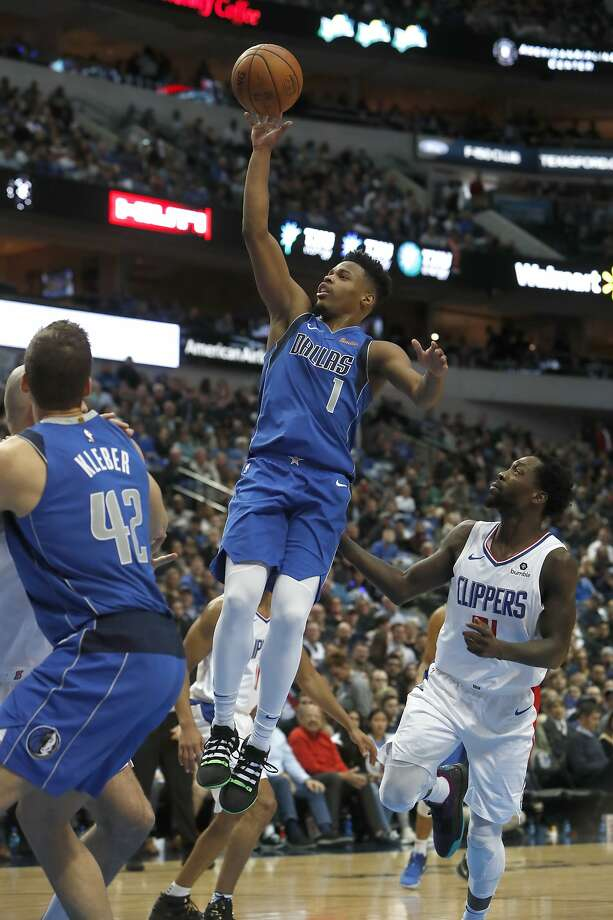Dennis Smith Jr. returns after a week away from the Mavericks. Photo: LM Otero / Associated Press