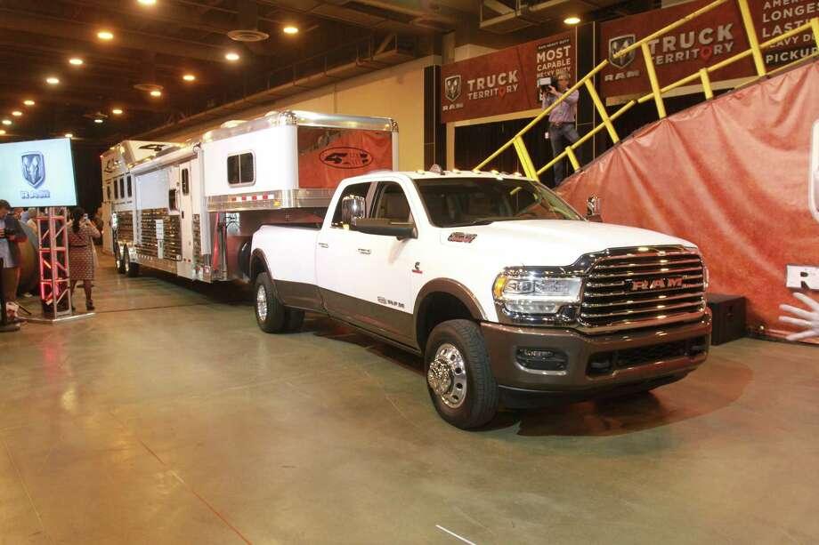 Pickup trucks grab spotlight at Houston Auto Show - Houston