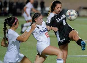 Clark's Andrea Santos (9) is one of 10 returning starters from a squad that lost in the Class 6A second row a year ago on penalty kicks to eventual Region IV-6A champion Austin Lake Travis.