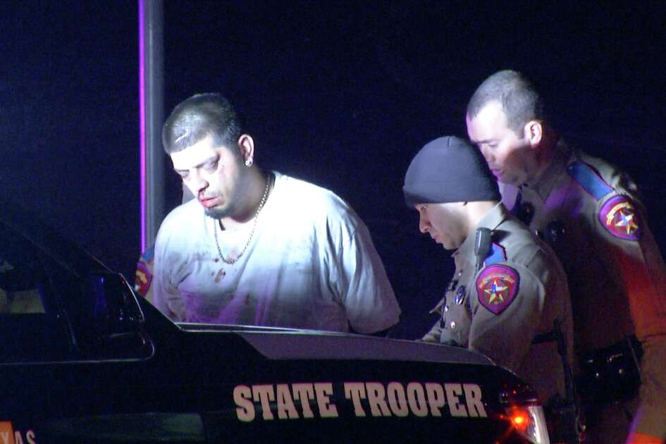 Troopers with the Texas Department of Public Safety were chasing the suspect, who has not been identified, near Interstate 10 and West Avenue at about 11:45 p.m., when he crashed into an SUV.