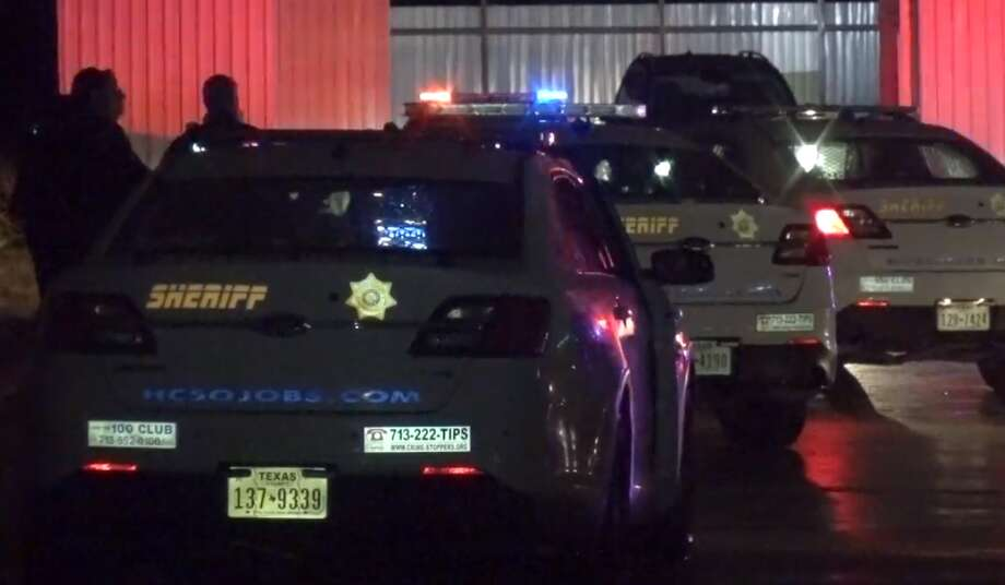 Police are investigating a shooting Wednesday morning at a game room in north Harris County that left a security guard shot multiple times. Photo: Metro Video