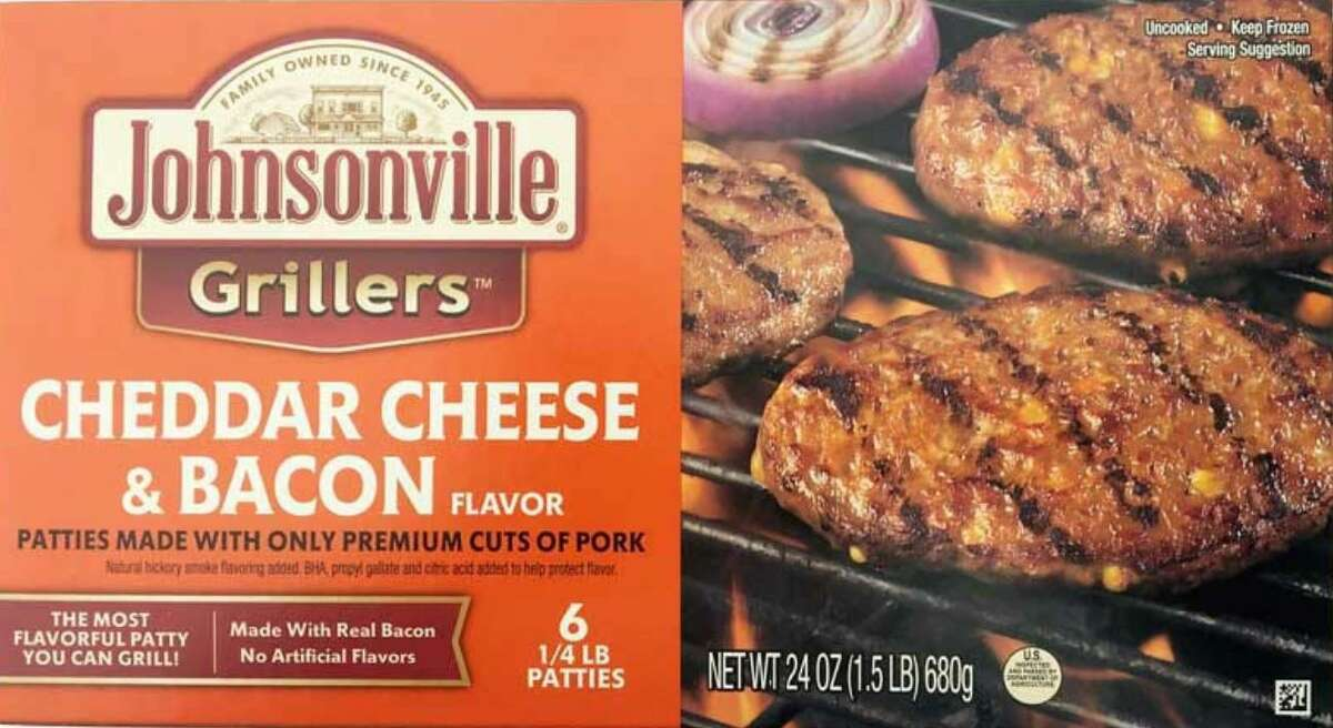 More than 48,000 pounds of Johnsonville raw ground pork patty products is being recalled because it may be contaminated with extraneous materials, specifically black rubber.