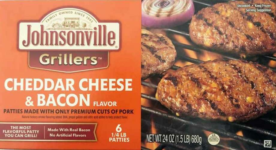 More than 48,000 pounds of Johnsonville raw ground pork patty products is being recalled because it may be contaminated with extraneous materials, specifically black rubber. Photo: /
