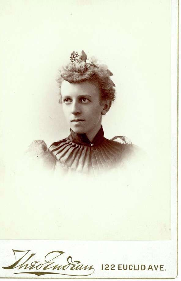 Grace A. Dow, circa 1894. (photo provided)
