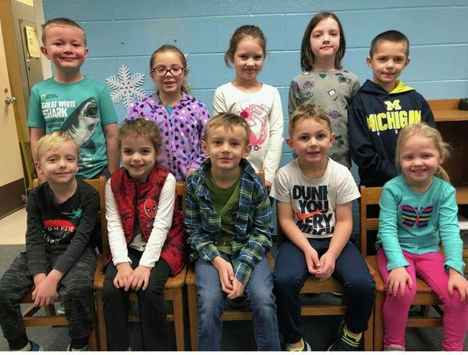 Bad Axe Elementary School recently announced their Citizens of the Month for January 2019. They are, front row: Young 5s -- Finnigan Jassen, kindergarten -- Elle Rifenbark, Logan Workman, Hudson Hurley, and physical education -- Kennedy Grekowicz; second row: first grade -- Fisher Corbishley, Elina Dorsch, Caitlyn Bullam, and second grade -- Kendra Long and Kato Torres. (Submitted Photo)