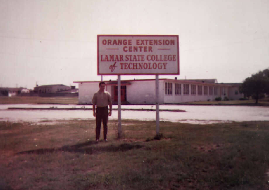 An undated historical photo of Lamar State College Orange.  Photo taken Tuesday, 1/22/19 Photo: Guiseppe Barranco/The Enterprise / Guiseppe Barranco ©