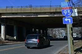 Interstate-95 bridge over Route 33 in Westport.