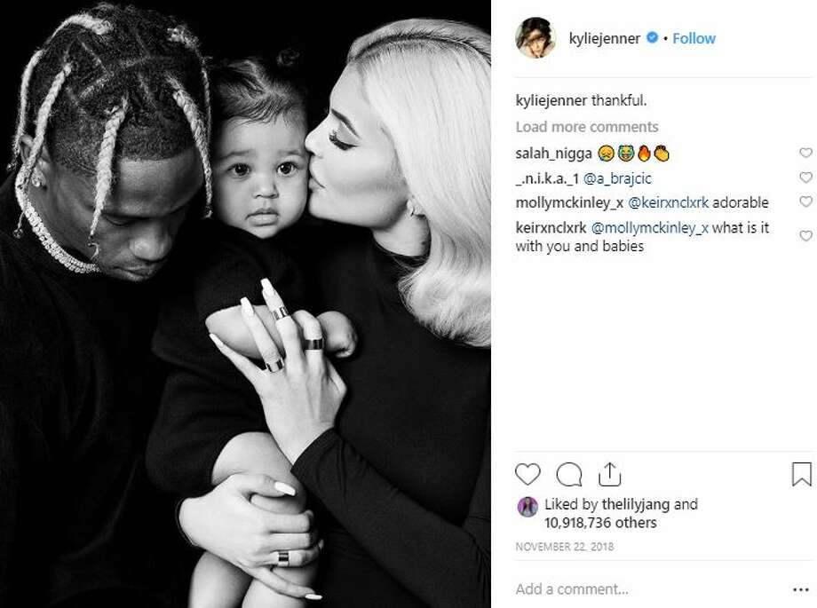 On Tuesday, Kylie Jenner teased marriage to Travis Scott, again.  >>> Click through to see Jenner's post, and the couple's relationship timeline. Photo: Instagram