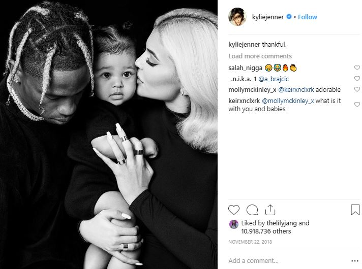 Kylie Jenner teases marriage to Travis Scott, again