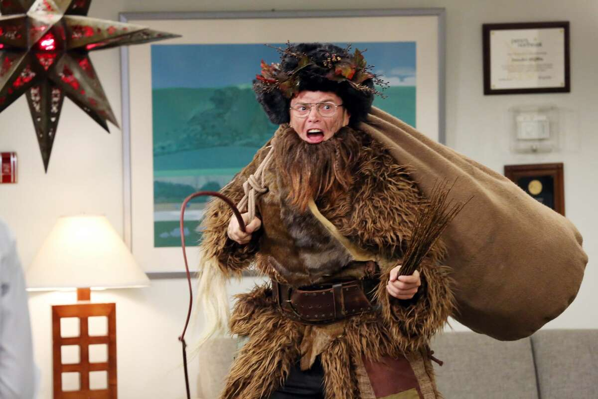 Belsnickel Like Santa, except dirty and worse.