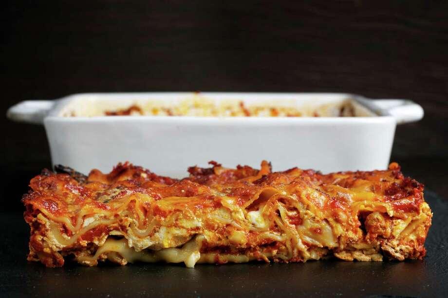 Southern Italian Style Lasagna. Photo: Photo By Deb Lindsey For The Washington Post. / The Washington Post