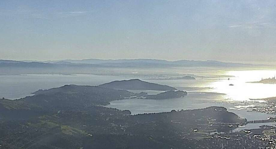 This photo of the view from Mt. Tamalpais was captured on the AlertWildfire.org website on January 23, 2019. Photo: Nevada Seismo Lab
