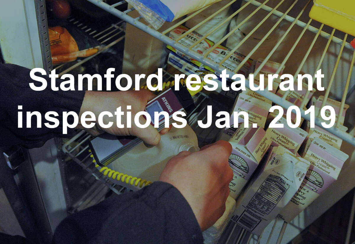>>The following Stamford eateries had a poor or failing rating from the Stamford Dept. of Environmental Health & Inspection as of January 22, 2019.