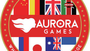 World Team logo for the Aurora Games.