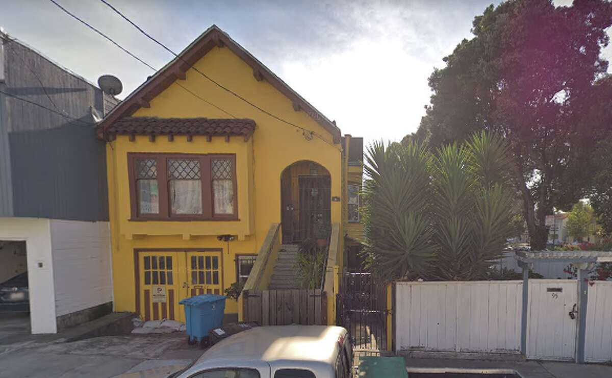 87 HARRINGTON STREET  The home in the Excelsior District where Grateful Dead guitarist Jerry Garcia grew up is the ideal destination for those wandering around before or after attending the annual Jerry Day in McLaren Park.