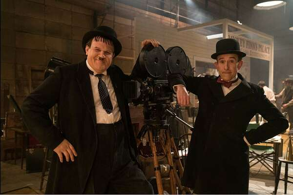"John C. Reilly and Steve Coogan in 'Stan & Ollie"""