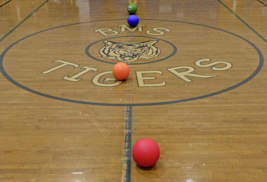 File photo of the Bethel Middle School gym during the ninth annual Tiger Ball Tournament on Tuesday, March 10, 2015. Photo: H John Voorhees III / H John Voorhees III / The News-Times