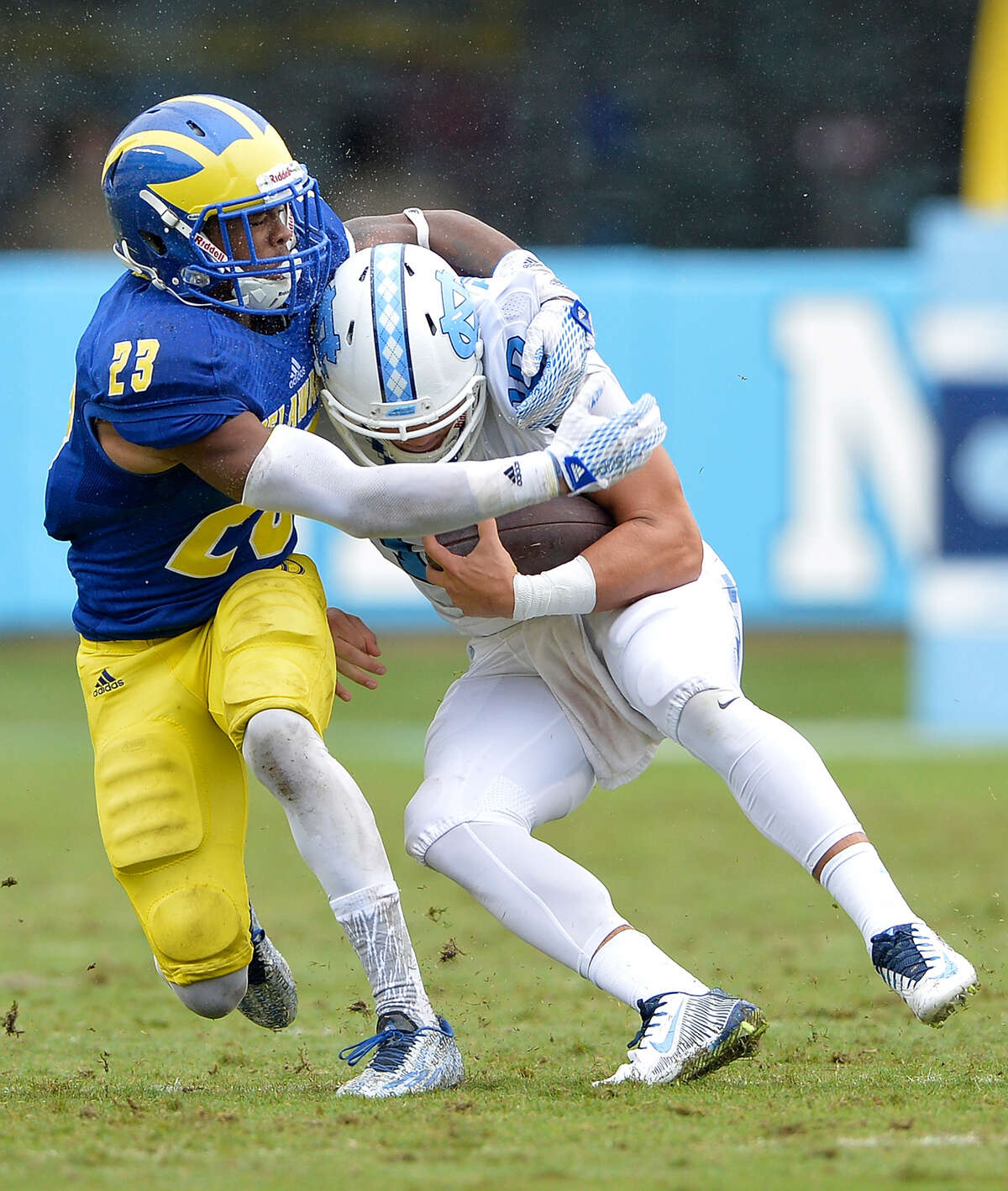 NASIR ADDERLEY, S, DELAWARE With Bradley McDougald being the only locked in starter at safety entering 2019, the Seahawks need more depth at the position. Delaware's Nasir Adderley (6 feet, 200 lb) is a prospect to watch. He may be the best, and most aggressive, safety in the Senior Bowl. Film shows that Adderley is a big-time hitter with strong ball tracking skills and elite closing speed. He's a solid run defender and his coverage ability stands out, too -- he began his college career as a cornerback. Adderley is the cousin of former NFL great Herb Adderley, who was a four-time All-Pro cornerback and three-time Super Bowl champ during a 12-year career.
