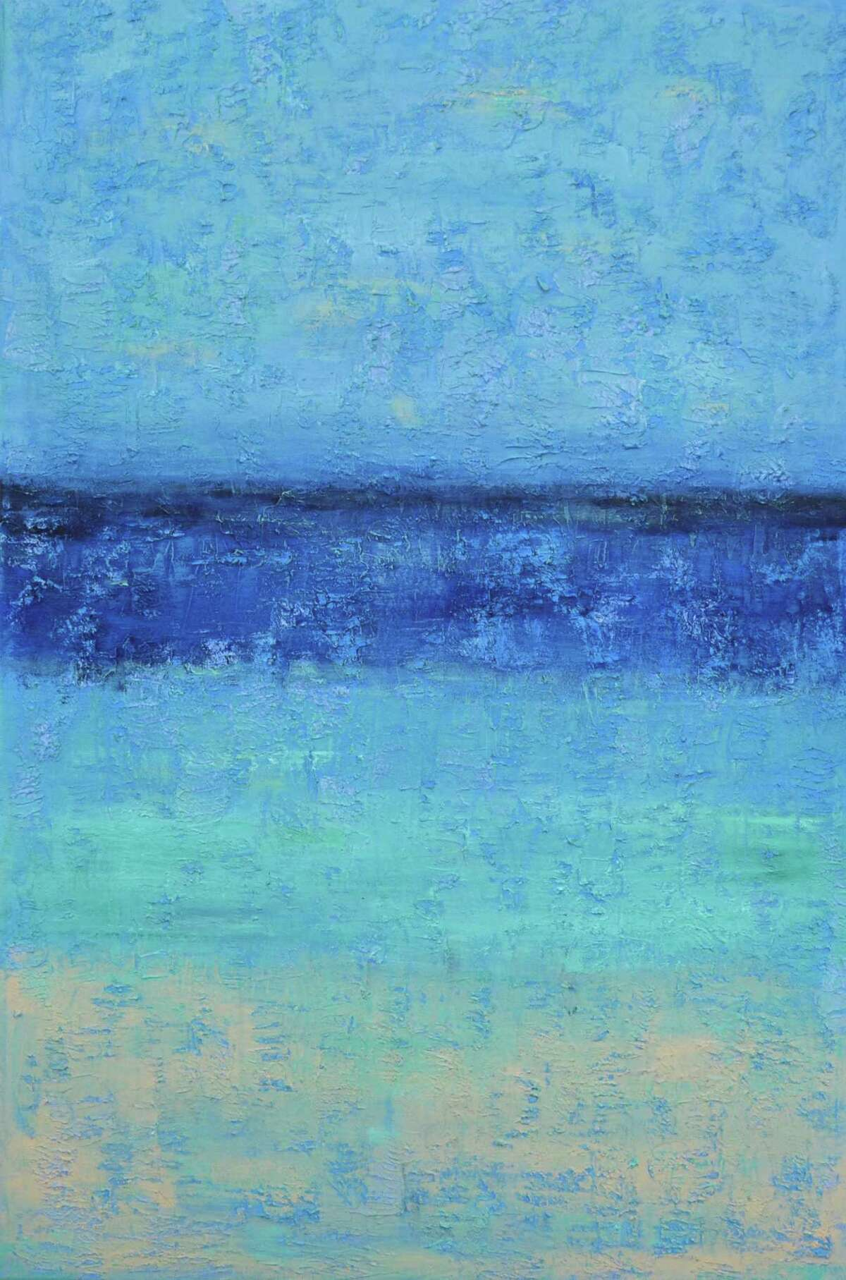 """Maria C. Friscia's """"Summer Breeze"""" will be featured in the Loft Artists Association exhibit at the Wilton Library Feb. 1-22."""