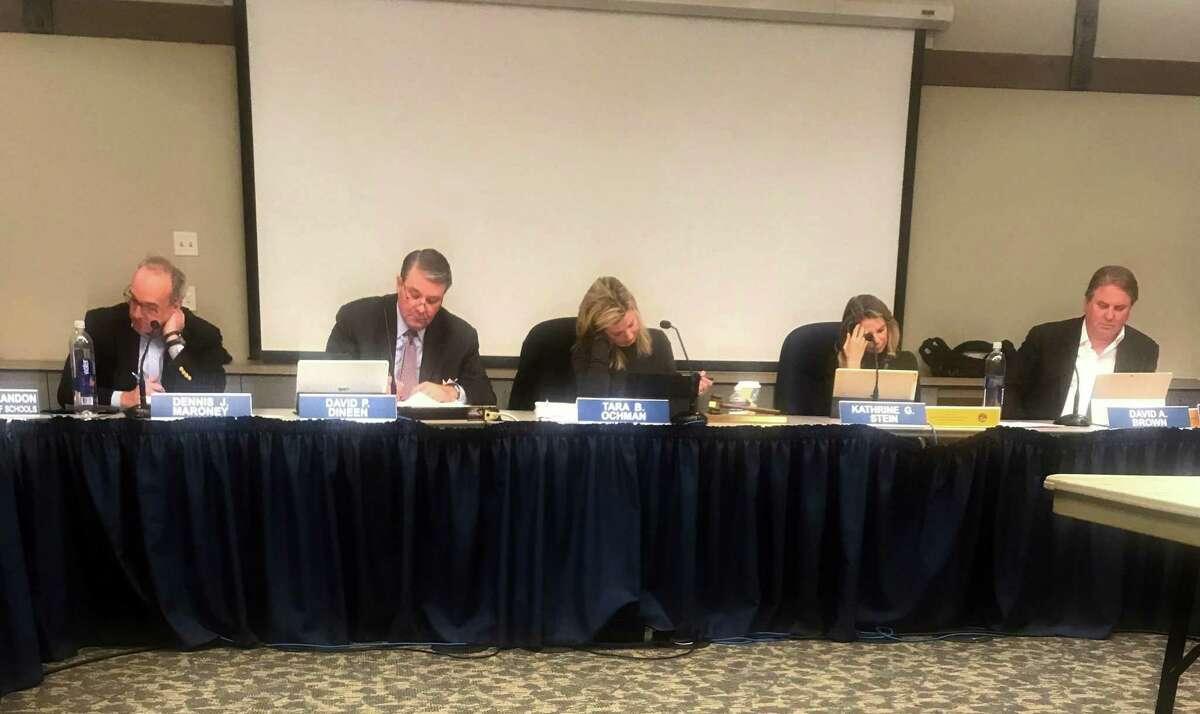 The Board of Education. Taken Jan. 22.