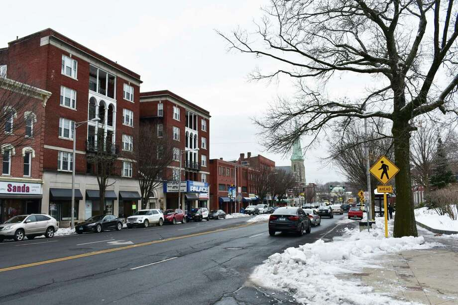 "Main Street in Danbury, Conn., designated as an ""opportunity"" zone for investment incentives under a new U.S. Department of Treasury program among more than 70 such districts in Connecticut. Photo: Alexander Soule / Hearst Connecticut Media / Stamford Advocate"