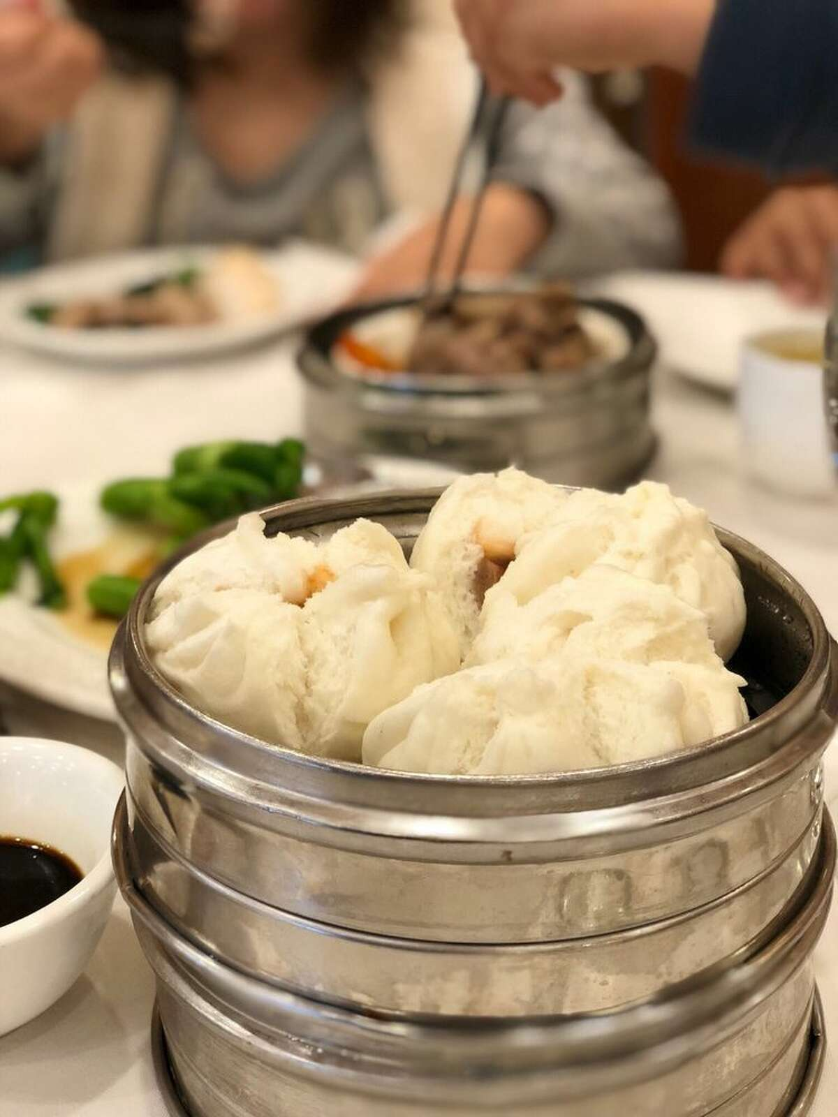 Arco Seafood Restaurant 9896 Bellaire Demerits: 24 Inspection highlights: Raw chicken stored with cooked chicken; Provide date marking for prepared food held more than 24 hours.