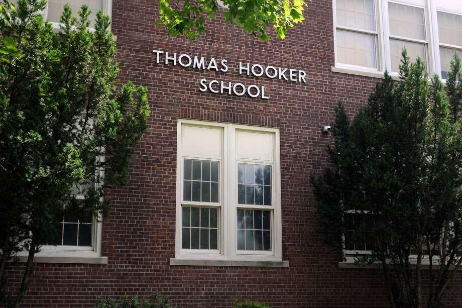 Thomas Hooker School, in Bridgeport, Conn. Aug. 25, 2016. Photo: Ned Gerard / Hearst Connecticut Media / Connecticut Post