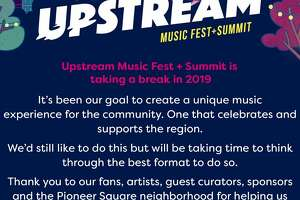 Upstream  posted this announcement on its  Facebook  page on Wednesday, stating there would be no Upstream Music Fest in 2019.