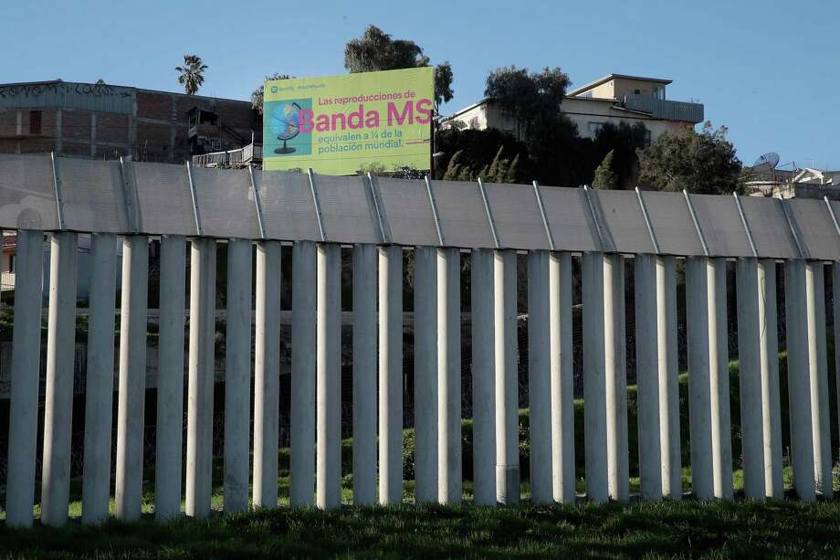 SAN DIEGO, CALIFORNIA - JANUARY 23: A concrete wall provides a barrier between the United States and Mexico on January 23, 2019 in San Diego, California. The U.S. government is partially shut down as President Donald Trump is asking for $5.7 billion to build additional walls along the U.S.-Mexico border which is opposed by the Democrats. (Photo by Scott Olson/Getty Images) Photo: Scott Olson, Staff / Getty Images / 2019 Getty Images