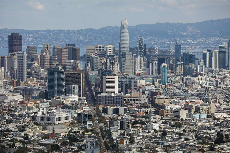 As the San Francisco skyline gets taller and taller, officials worry about how fast the city can recover from a major quake. Photo: Gabrielle Lurie / The Chronicle