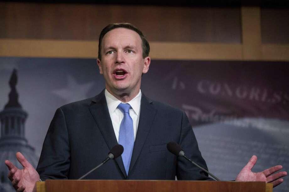 Sen. Chris Murphy, D-Conn. Photo: Zach Gibson / Getty Images / 2018 Getty Images