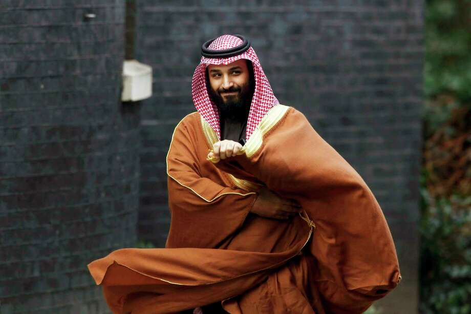 FILE-- Mohammed bin Salman, shown in March, is crown prince of Saudi Arabia. Satellite images suggest that Saudi Arabia has constructed its first known ballistic missile factory, according to weapons experts and image analysts, a development that raises questions about the kingdom's increasing military and nuclear ambitions under its 33-year-old crown prince. Photo: Bloomberg Photo By Luke MacGregor. / 2018 Bloomberg Finance LP