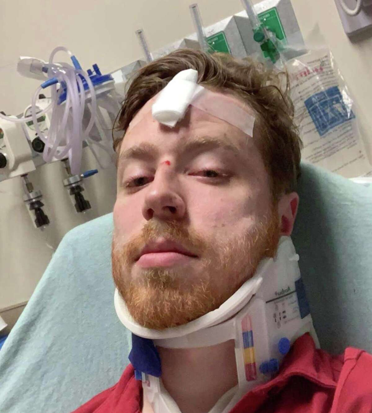 Spencer Deehring grew up in Houston. He and Tristan Perry were attacked in downtown Austin in an alleged hate crime.