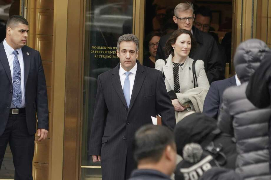 BuzzFeed News claims Donald Trump instructed Michael Cohen, above, to lie to Congress. But until this can be corroborated, any action against Trump is a mistake. Photo: Chang W. Lee /New York Times / NYTNS