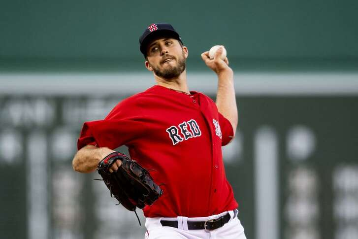 Drew Pomeranz won 17 games, posted a 3.32 ERA and struck out 174 batters in a career-high 32 starts for Boston in 2017.