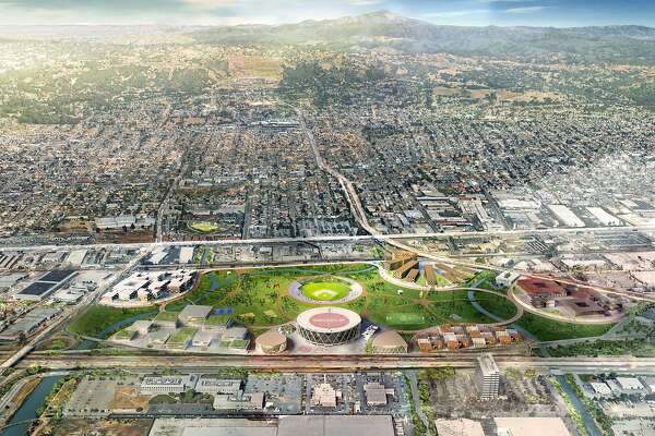 Architect's vision for Coliseum site — a 21st century ruin