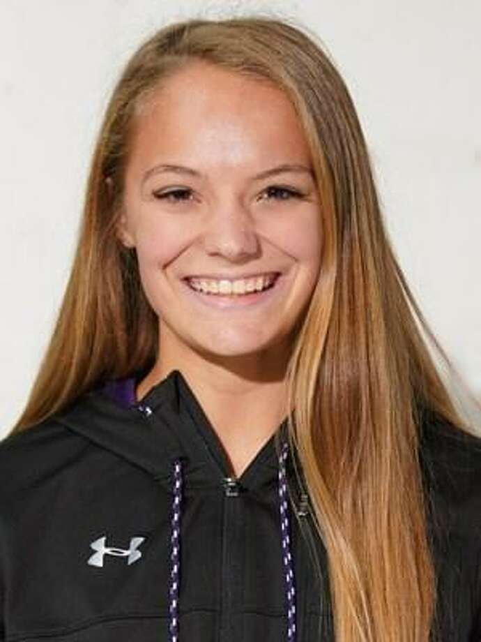 Stephen F. Austin pole vaulter Nastassja Campbell. Photo: SFA Sports Information