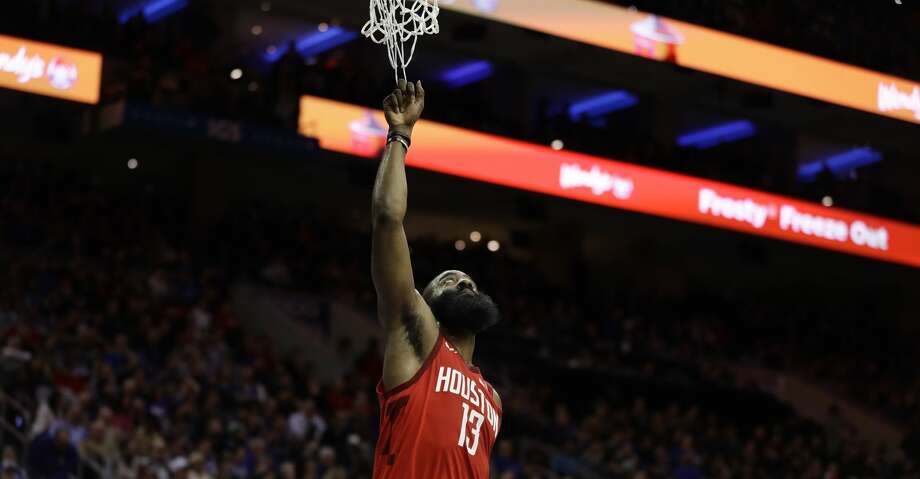 PHOTOS: Rockets game-by-game Houston Rockets' James Harden in action during an NBA basketball game against the Philadelphia 76ers, Monday, Jan. 21, 2019, in Philadelphia. (AP Photo/Matt Slocum) Browse through the photos to see how the Rockets have fared in each game this season. Photo: Matt Slocum/Associated Press