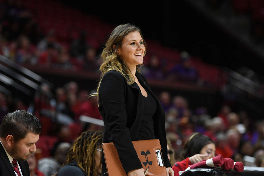 Former Freeland and Michigan State basketball star Tori Jankoska is now the Director of Recruiting Operations and Player Personnel for the University of Maryland's women's basketball program. Photo: Photo Provided
