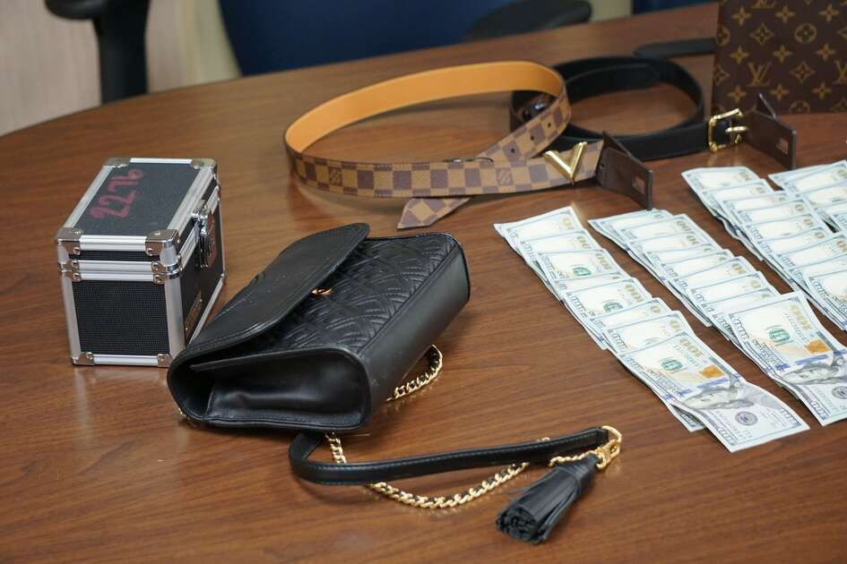Ricky Flores and Jessica Garcia each face a charge of theft between $2,500 and $30,000, after police arrested them and searched a motel recovering more than $8,000 in cash and high-end merchandise.