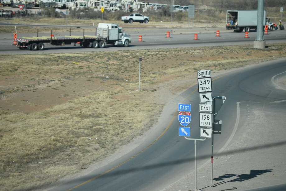 A quarter of a billion dollars in funding to be used for the conversion of frontage roads and to reconstruct interchanges along I-20 in Midland and Ector counties is part of the proposed 2020-2029 Unified Transportation Plan released this week.  Photo: James Durbin / ? 2019 Midland Reporter-Telegram. All Rights Reserved.